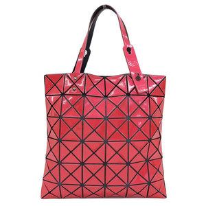 Genuine ISSEY MIYAKE Issei Miyake Baobao PVC Tote Bag Pink Leather