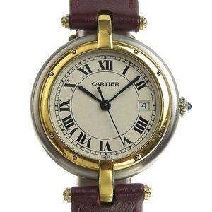 Authentic CARTIER Cartier Panthere Round Ladies Quartz Wrist Watch