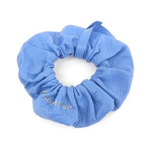 Genuine BALENCIA GA Balenciaga Leather Scrub Bracelet Blue 502024
