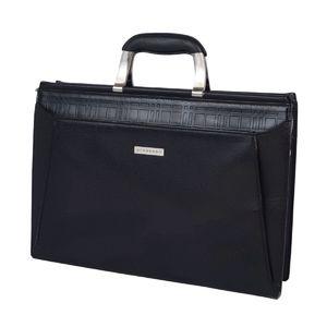バーバリー(Burberry) Vintage バーバリー Burberrys メンズ レザー ビジネスバッグ ブリーフケース バッグ 鞄  ブラック メンズバッグ ヴィンテージ