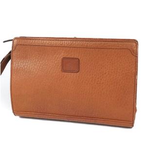 Vintage Burberry Burberrys Leather Clutch Bag Second Men's Back Check