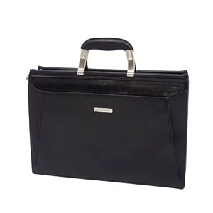 Burberry London BURBERRY LONDON Men's Leather Briefcase Business Bag Documentary Black 鞄