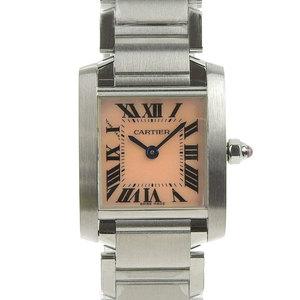 Cartier Cartier Tank Francaise SM Ladies Quartz Watch Pink Shell Dial