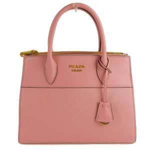 Prada PRADA 2WAY handbag leather pink 1BA103