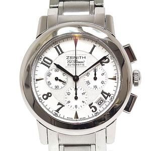 ZENITH Zenith Men's Watch Port Royal El Primero 01 02.0451.400 White (White) Dial Automatic