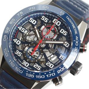TAG Heuer HEUER Carrera Caliber 01 Red Bull Racing CAR2A1N.FT6100 Blue Automatic Mens Watch
