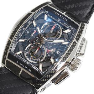 クストス CVSTOS  チャレンジ クロノ2  CVT-CHR2-CARBONST 自動巻き メンズ 腕時計