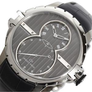 ジャケドロー JAQUET DROZ  グランド・セコンド SW  J029020243 自動巻き グレー メンズ 腕時計 美品
