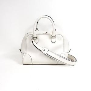Loewe LOEWE Amazona 75 301.30.L01 White Handbag Women