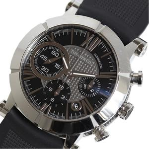 Tiffany TIFFANY & CO Atlas Gentochronograph Z1000.82.12A10A91A Black Rubber Automatic Men's Watch