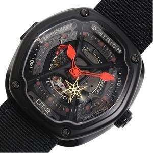 ディートリヒ DIETRICH  オーガニックタイム-2  DROT-002 自動巻き メンズ 腕時計 美品