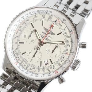 ブライトリング BREITLING  ナビタイマー01  リミテッド 限定2000本 AB0123 シルバー 自動巻き メンズ 腕時計