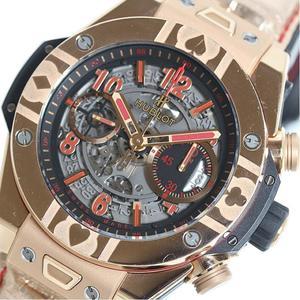 ウブロ HUBLOT  ウニコ ワールドポーカーツアー キングゴールド 411.OX.1180.LR.WPT15 世界限定100本 自動巻き メンズ 腕時計