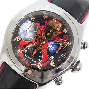 コルム CORUM  ルシファークロノグラフ  666本限定 285.340.20 堕天使モデル 自動巻き メンズ 腕時計