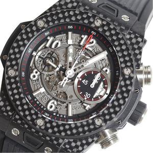 Hublot HUBLOT Big Bang Unico Carbon 411.QX.1170.RX Skeleton Automatic Mens Watch