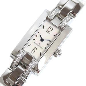 Jagal Kurt JAEGER-LE COULTRE Ideal 460.8.08 Diamond Bezel Shell Quartz Ladies Watch