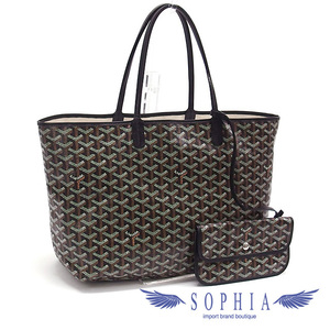 Goyard Gojar Saint Louis PM tote bag black 20190612
