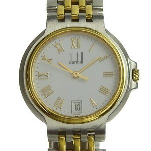 Genuine dunhill Dunhill Elite Men's Quartz Watch White Dial