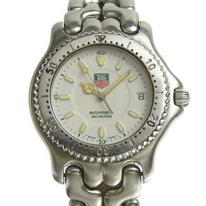 Genuine TAG HEUER Tag Heuer Cell Series Mens Automatic Watch White Dial