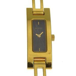 Genuine GUCCI Gucci Ladies Quartz Watch Black Dial Model: 3900L