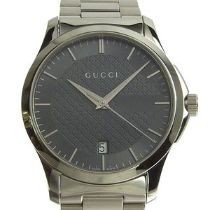 Genuine GUCCI Gucci G Timeless Men's Quartz Watch Model: 126.4