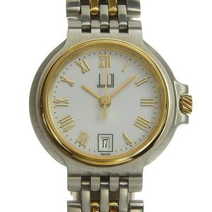 Genuine dunhill Dunhill Elite 2 Row Ladies Quartz Wrist Watch