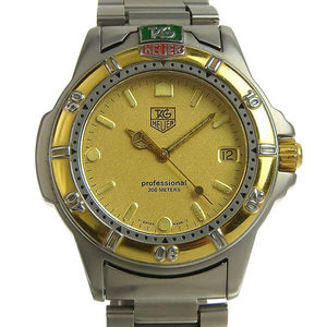 Genuine TAG Heuer Tag Professional Men's Quartz Watch Model: 995.406