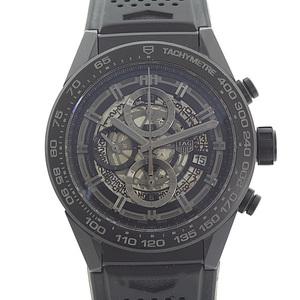 TAG HEUER Heuer Men's Watch Carrera Caliber 01 CAR2A90.FT6071 Black Skeleton Dial