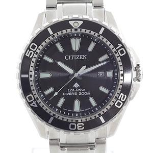 CITIZEN Citizen Men's Watch Promaster MARINE Series Eco Drive Professional Diver 200m BN0190-82E Black (Black) Dial