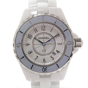 CHANEL Chanel Ladies Watch J12 World Limited 1,200 H4340 White (White) Dial Quartz