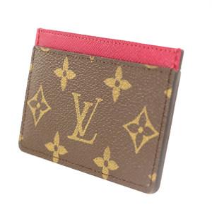 ルイ・ヴィトン(Louis Vuitton) モノグラム  バッグ用アクセサリー モノグラム ポルトカルトサーンプル パスケース