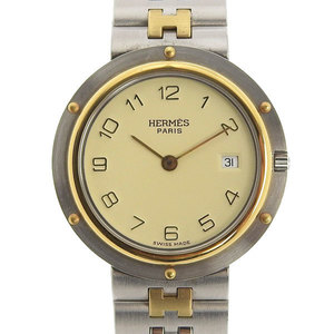 Genuine HERMES Hermes Clipper Boys Quartz Watch