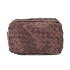 Bottega Veneta Cosmetic Pouch Travel BOTTEGA VENETA Intrecciorion Gritchne Light Brown 301473 VX570 6000