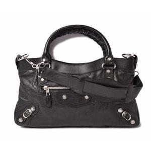 Balenciaga Handbag Shoulder Bag City BALENCIAGA Giant First THE FIRST Black 240577.1000.213048