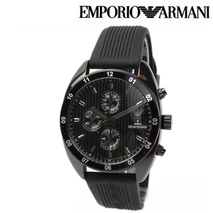 Emporio Armani Men's Watch EMPORIO ARMANI Sport Chronograph Black AR5928