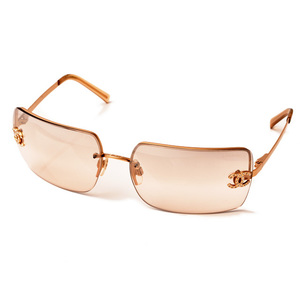 Chanel sunglasses CHANEL 4092 C102 8Z 62 □ 15 120 gold clear brown