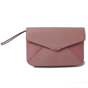 Fendi Clutch Bag Second FENDI Toujoul with Light Purple Strap