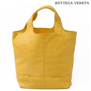 Bottega Veneta BOTTEGA VENETA Tote Bag Handbag 131673 V1330 7100 Punching Mustard