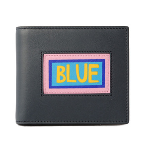Fendi wallet FENDI folded 7M0169 VOCABULARY navy black