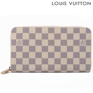 Louis Vuitton Purse LOUIS VUITTON Zippy Organizer N60012 Damier Azul