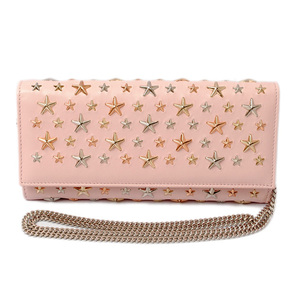 Jimmy Cho wallet JIMMY CHOO Pochette MILLA ROSE GOLD Rose Gold Multimetal Star