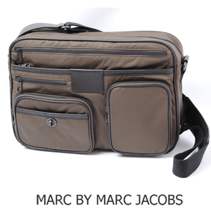 Marc by Jacobs Messenger Bag Men's Line MARC BY JACOBS DANNY BO Dark Brown M401020