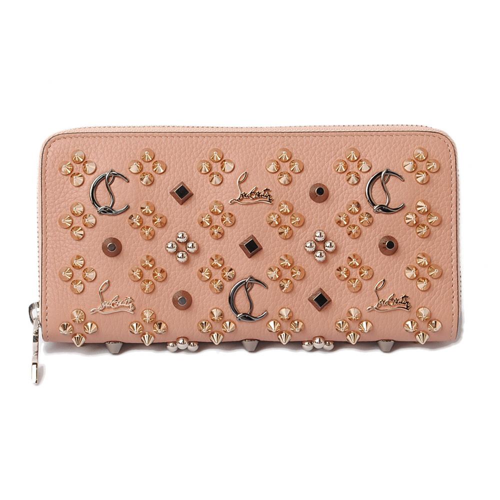 Christian Louboutin Purse Louboutin Panettone Wallet Nude Beige Pink 3175224 Elady Com