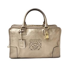 Loewe handbag LOEWE Amazona 36 AMAZONA metallic gold