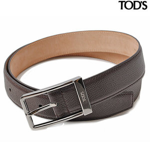 Tods belt TOD'S embossed leather brown XCMCPU20100DOUS606 size 95
