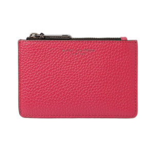 Marc Jacobs Card Case Coin MARC JACOBS Gotham Multi with Keyring RASPBERRY Raspberry M0011054