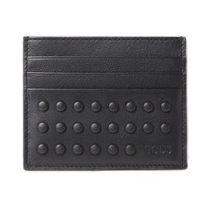 Tod's Card Case Business Holder TOD'S Men's Line Leather Dark Navy XAMGGTF5200TICU8209
