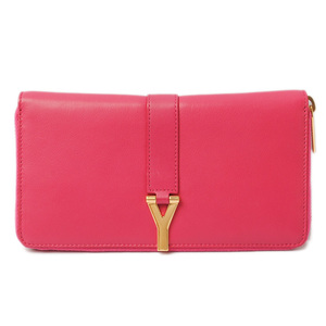 Yves Saint Laurent Saint-Laurent Paris Wallets YSL SAINT LAURENT PARIS Long wallet calf Fuchsia pink 314991 BJ50J 1589 outlets