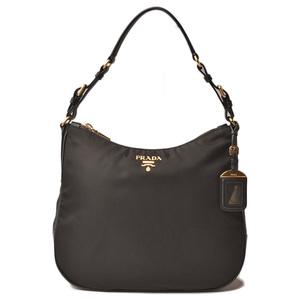 Prada shoulder bag semi-shoulder PRADA test Safino black BR4987