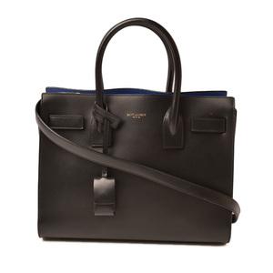 Saint-Laurent handbag shoulder bag SAINT LAURENT classic mini sac de joule black blue 392032